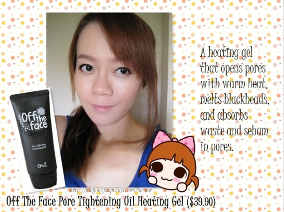 Off The Face Pore Tightening Oil Heating Gel