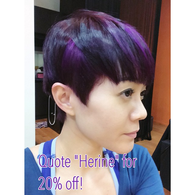 herine purple